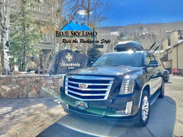 Car Service from Denver to Vail.