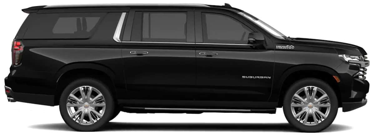 Our World Class Fleet Enjoy your drive through the Colorado Rockies in One of The World's Most Desirable Large Capacity SUV's