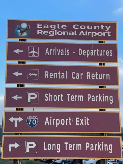 Travel Directions from Eagle Airport